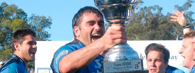 Los Teros, la selección uruguaya de rugby llegó al mundial de Inglaterra 2015