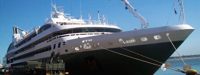 Crucero Le Soléal inició temporada sudamericana en Montevideo