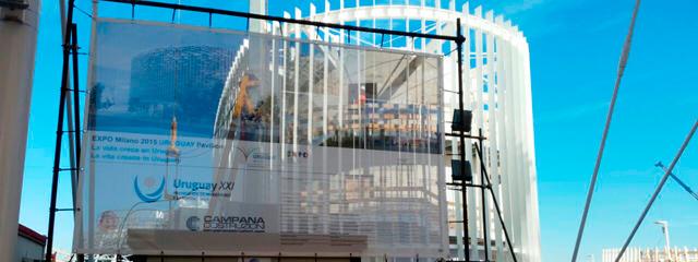 Autoridades de Expo Milán 2015 contentas con avances en pabellón uruguayo