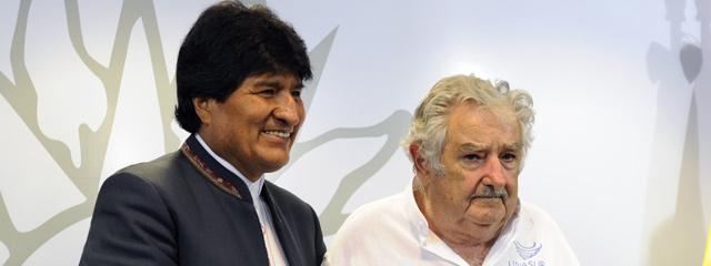 Presidentes José Mujica y Evo Morales resaltaron valor de la integración latinoamericana y avanzaron sobre la posible salida de Bolivia al Atlántico