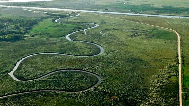 Humedales del río Santa Lucía incluidos en el Sistema Nacional de Áreas Protegidas