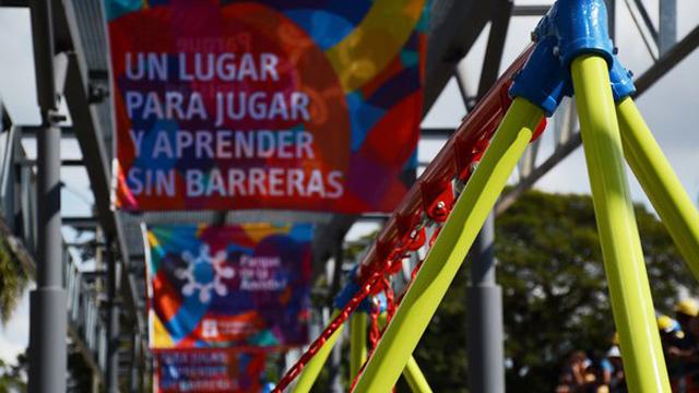 Montevideo ya tiene un espacio con accesibilidad plena: el Parque de la Amistad