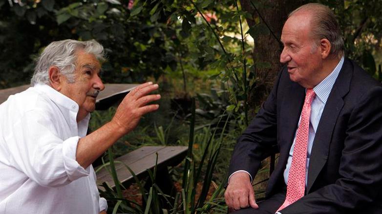 """Mujica a Juan Carlos: """"Tuviste la desgracia de ser rey"""""""