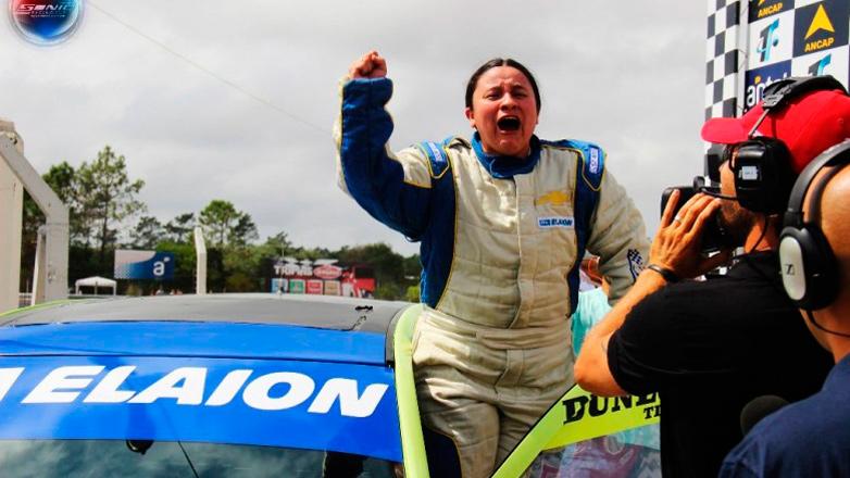 Una mujer hizo historia en el automovilismo uruguayo