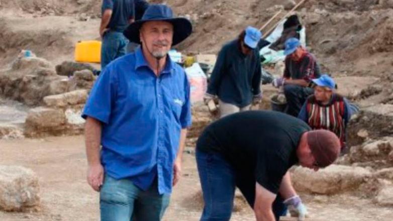 Arqueólogo uruguayo encontró un templo de hace 1.500 años en Israel