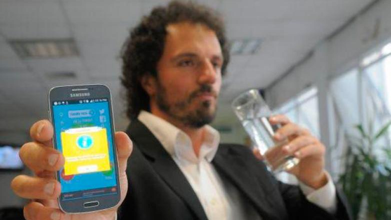 China y Google se rinden ante Aqualert, la aplicación de un uruguayo, que ayuda a controlar el consumo diario de agua
