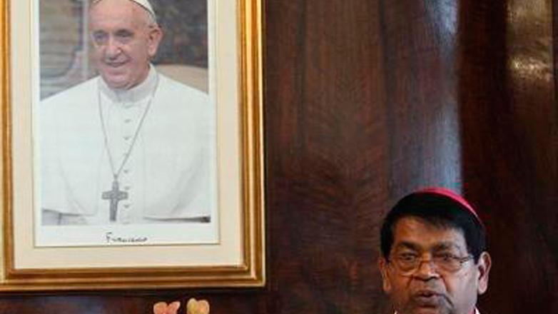 El nuncio en Uruguay cocinó para 400 personas para celebrar el aniversario del Papa Francisco