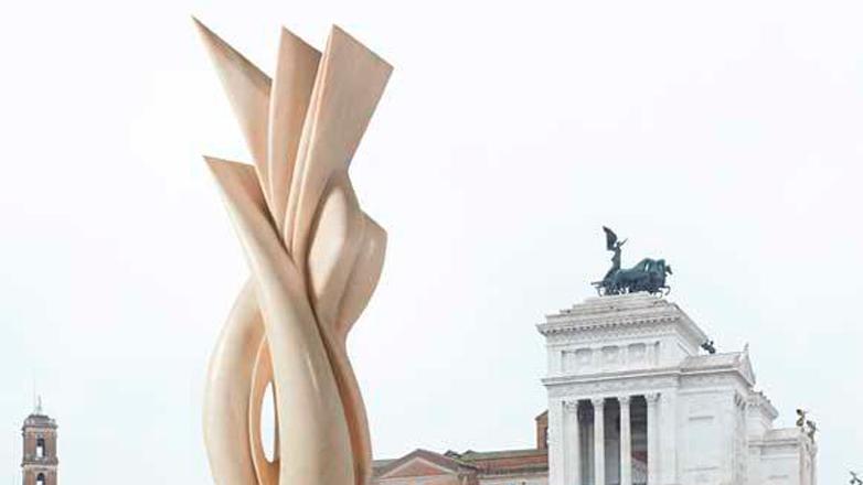 Pablo Atchugarry expone en Roma sus obras más destacadas