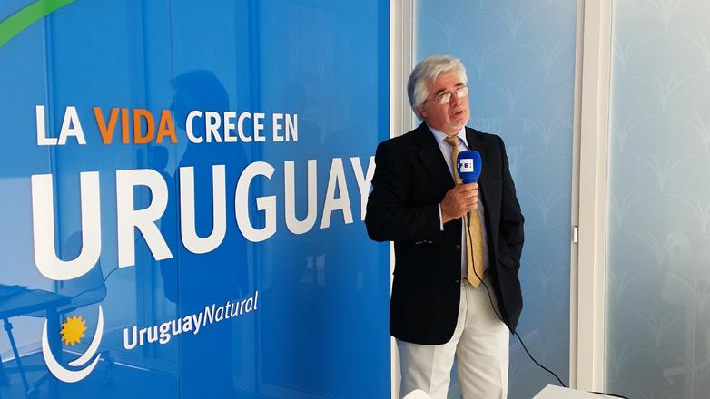 En Expo Milán, el ministro Aguerre mostró las bondades del Uruguay agrointeligente y su vanguardista sistema de trazabilidad