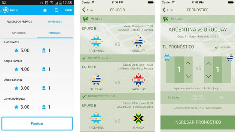 De la mano de GeneXus llegan dos apps para disfrutar más de la Copa América