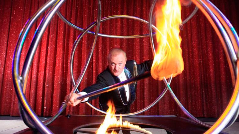 Montevideo recibe al circo Tihany, de Franz Czeisler, una leyenda viva formada en Uruguay
