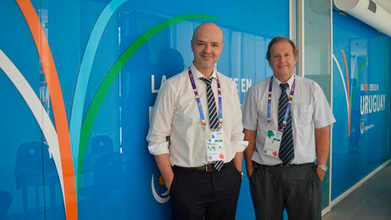 El presidente de la Cámara de Industrias del Uruguay visitó el pabellón de Uruguay en la Expo Milán
