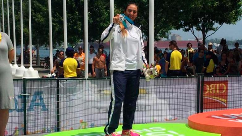 """Dolores """"Lola"""" Moreira obtuvo una medalla de plata en los Panamericanos y se clasificó para Río 2016"""