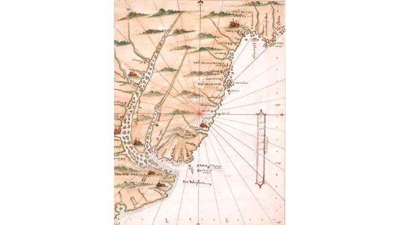 Una profesora de Mercedes y dos submarinistas aventureros ubican el primer emplazamiento español en Uruguay