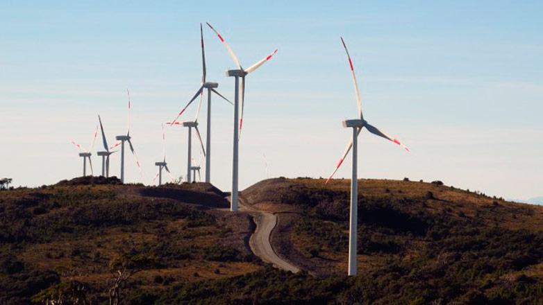 Eólicas y otras energías renovables abastecen el consumo total de Uruguay