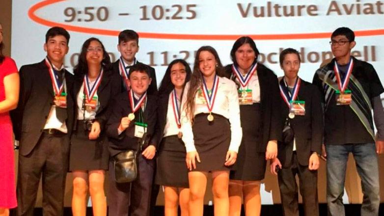 Estudiantes de Maldonado ganaron el Oro en la NASA