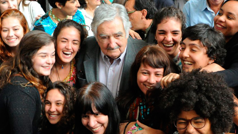 Mujica, un gurú en Río de Janeiro