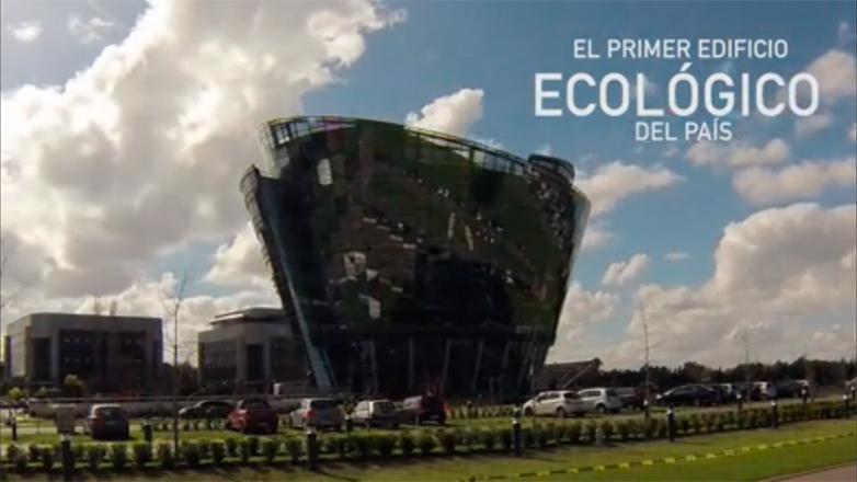 Una recorrida por el edificio más ecológico de Uruguay