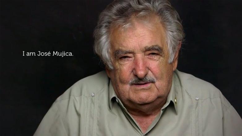 Mujica en una película auspiciada por Google