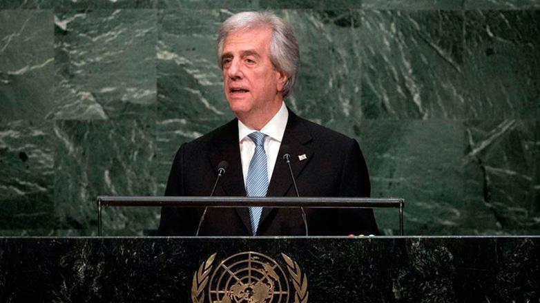 """Presidente Vázquez ante la ONU: """"Uruguay sufre demanda de tabacalera transnacional por sus políticas a favor de la salud"""""""