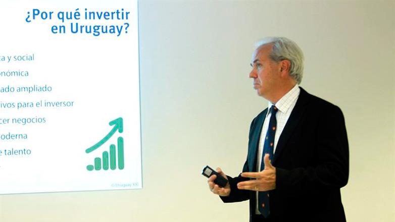 Volúmen de inversiones aprobadas en Uruguay aumentó 13% en los primeros ocho meses del año