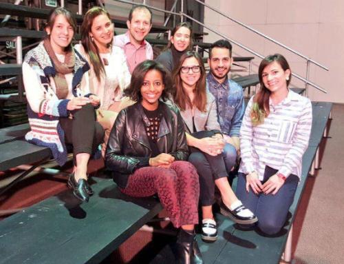 Micaela del Prado, la bloguera  fashionista de E! Online Latino participó en la MoWeek