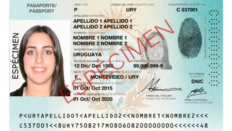 Nuevo pasaporte electrónico posiciona a Uruguay al más alto nivel internacional