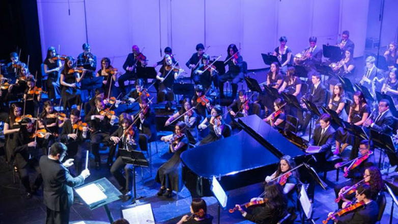 Orquesta Juvenil del Sodre se presentó en el New World Center de Miami