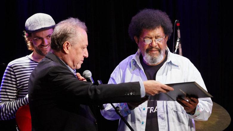 Ruben Rada fue homenajeado en la prestigiosa universidad de Berklee