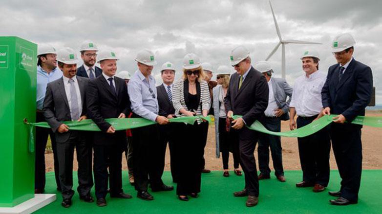Fue inaugurada Melowind, la primera planta de generación de energía de Enel Green Power en Uruguay