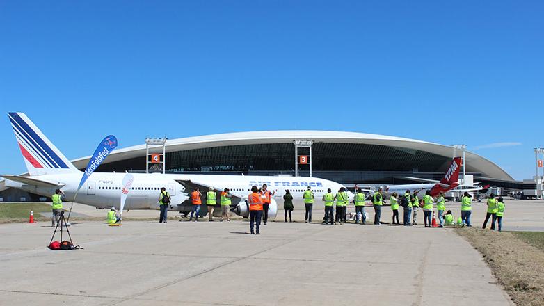 Registros artísticos: el Aerofotofest convocó a 80 fotógrafos en el Aeropuerto de Carrasco