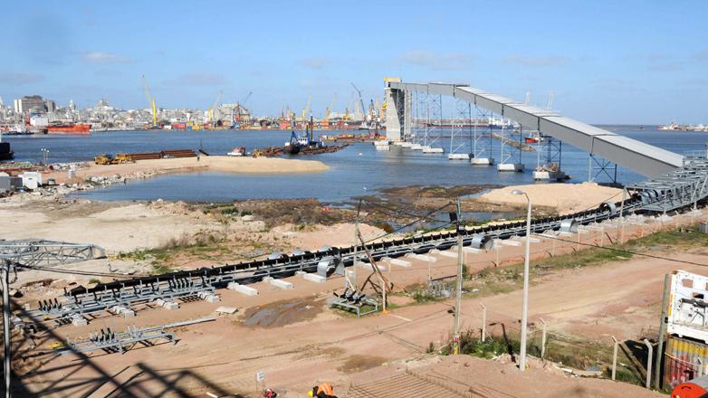 Terminal de Graneles Montevideo comenzará a operar en diciembre