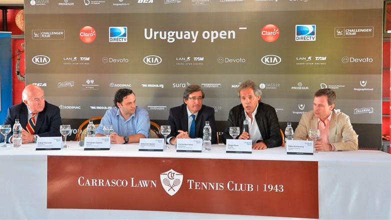 Uruguay Open, el torneo ATP más importante del país, llega a sus 15 ediciones con el apoyo de la marca país