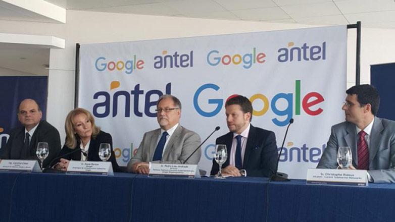 """Uruguay en """"selecto club mundial proveedor de internet"""""""