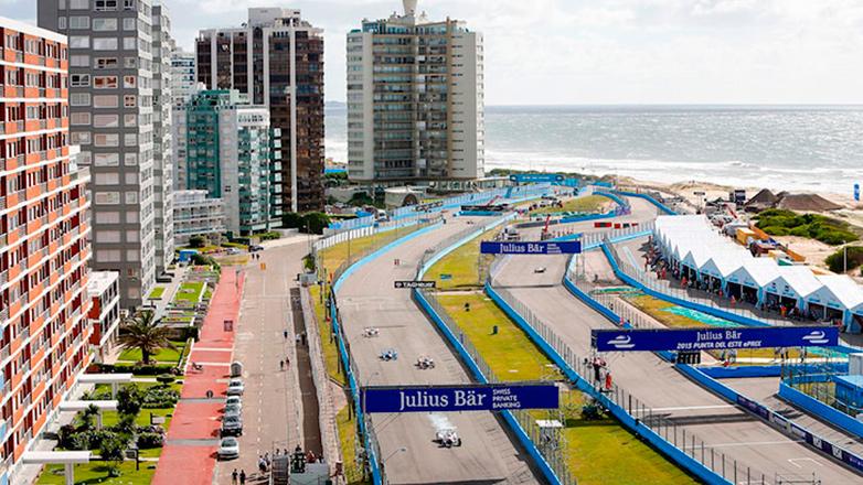 Sebastien Buemi ganó en el circuito de la Fórmula E que se desarrolló en Punta del Este