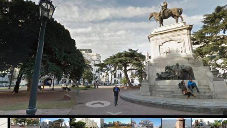 Uruguay en Google Street View