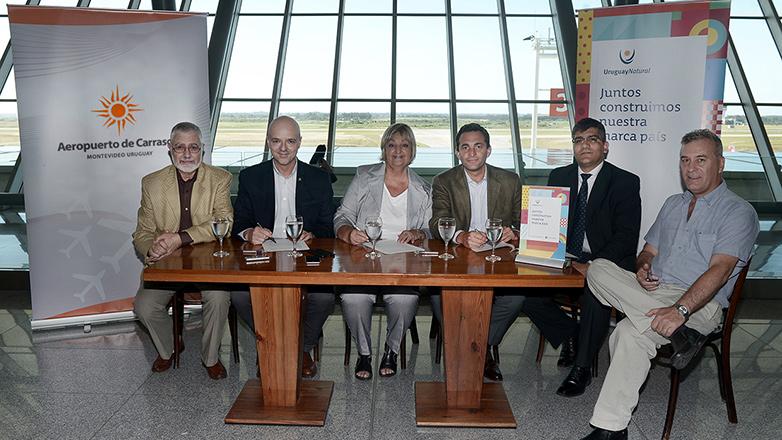El Aeropuerto de Carrasco se suma y pasa a ser el más reciente socio de la marca Uruguay Natural