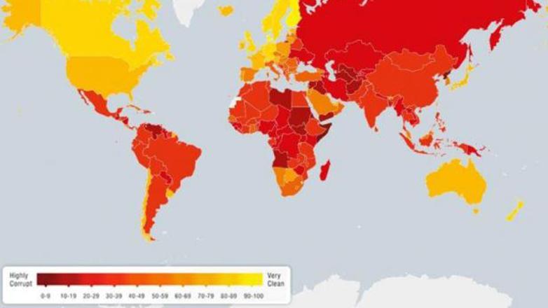 Uruguay, entre los 25 países menos corruptos del 2015