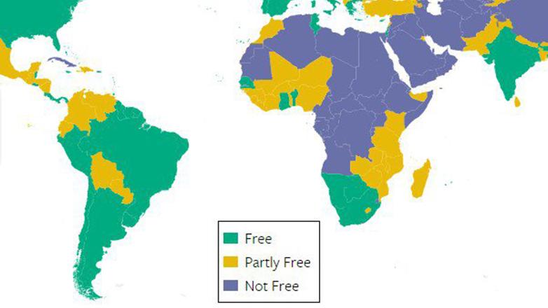 Uruguay primero en américa en libertad, según Freedom House