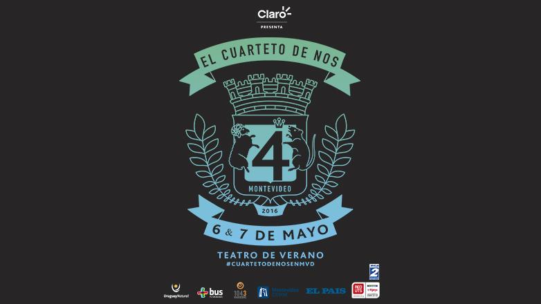El Cuarteto de Nos vuelve al Teatro de Verano de Montevideo con un show renovado