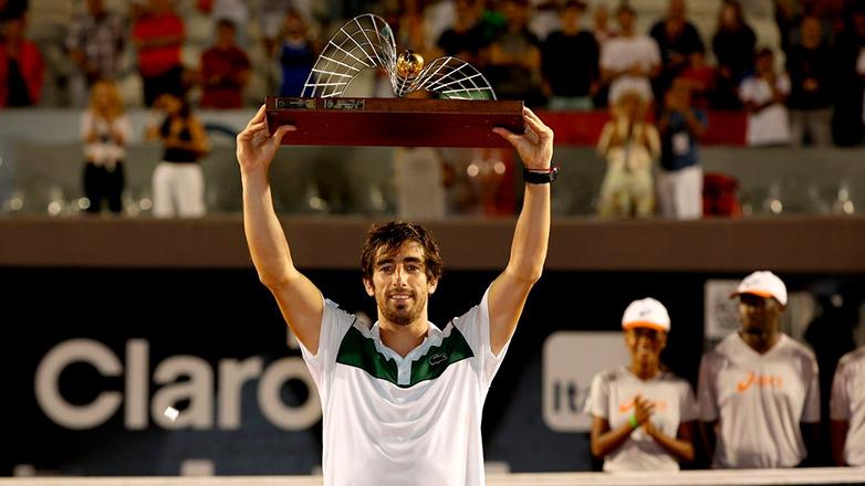 Pablo Cuevas ganó por primera vez un ATP 500 en Rio de Janeiro