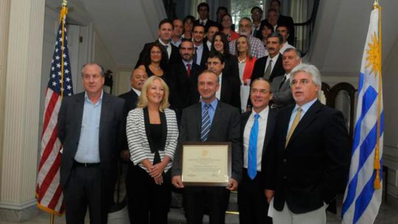 """La filial uruguaya que se llevó el """"Oscar empresarial"""" de EE.UU."""