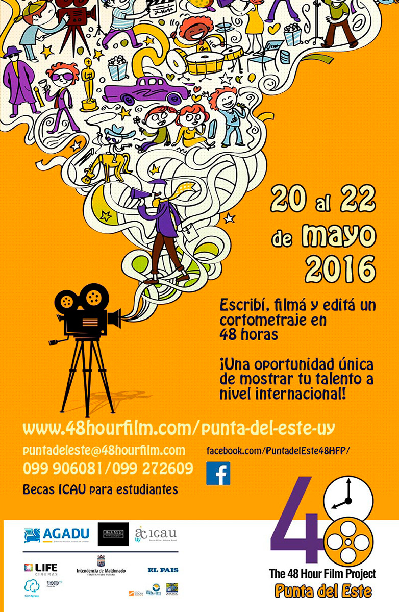 Punta del Este será una de las sedes del 48 Hours Film Project