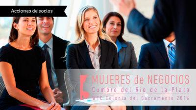 Cumbre de Mujeres de Negocios en el WTC Colonia