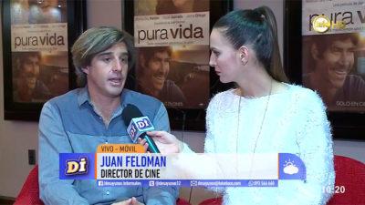 """A 21 años de radicarse en Hollywood, el director uruguayo Juan Feldman estrena """"Pura vida"""" en Montevideo"""