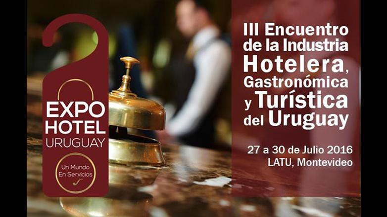 En julio Montevideo será sede de la 3ª Expo Hotel