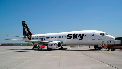 Sky Airlines cubrirá ruta Montevideo-Santiago de Chile desde setiembre