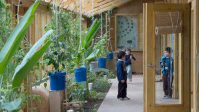 Así viven los niños en la escuela pública sustentable de Jaureguiberry
