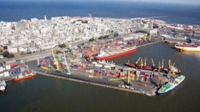 Comienzan las obras de extensión del muelle C del puerto de Montevideo
