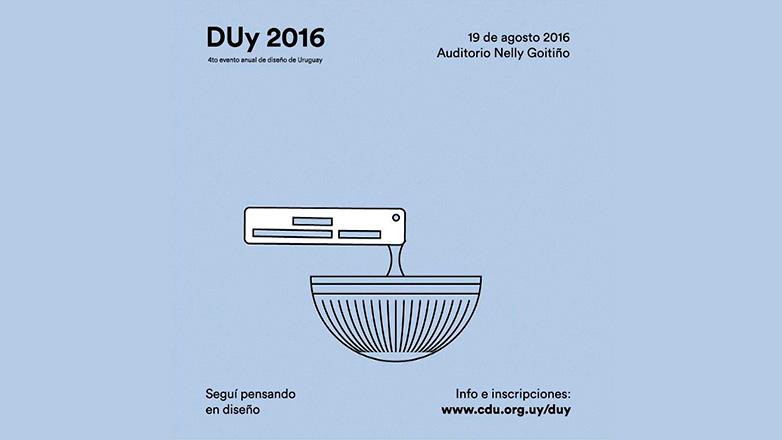 Llega la edición 2016 de DUy: con cinco conferencias en un día dedicado al diseño en Uruguay y la región